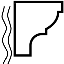 Listwy maskujące karnisz
