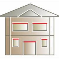 Listwa elewacyjna lub gzyms nadokienny ozdabiający okno lub drzwi. Montaż nad oknem lub drzwiami.