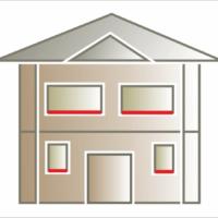 Listwa elewacyjna lub gzyms podokienny jako element ozdobny pod oknami.