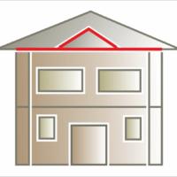 Gzyms elewacyjny można montować pod podbitkę lub na szczytach.
