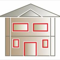 Listwa elewacyjna lub pilastr jako ozdoba dookoła okna i drzwi. Montaż listew wokół okien i drzwi.