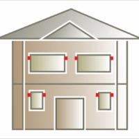 Wspornik elewacyjny mozna montować pod gzymsem nadokiennym wzdłóż pionowych listw wokółokiennych.