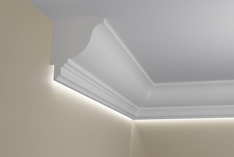 Wsla1 Listwa Przysufitowa Do Oświetlenia Led ściany