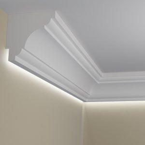 WSLA11 Sztukateria wewnetrzna listwa przysufitowa oswietlajaca sciane LED _pr