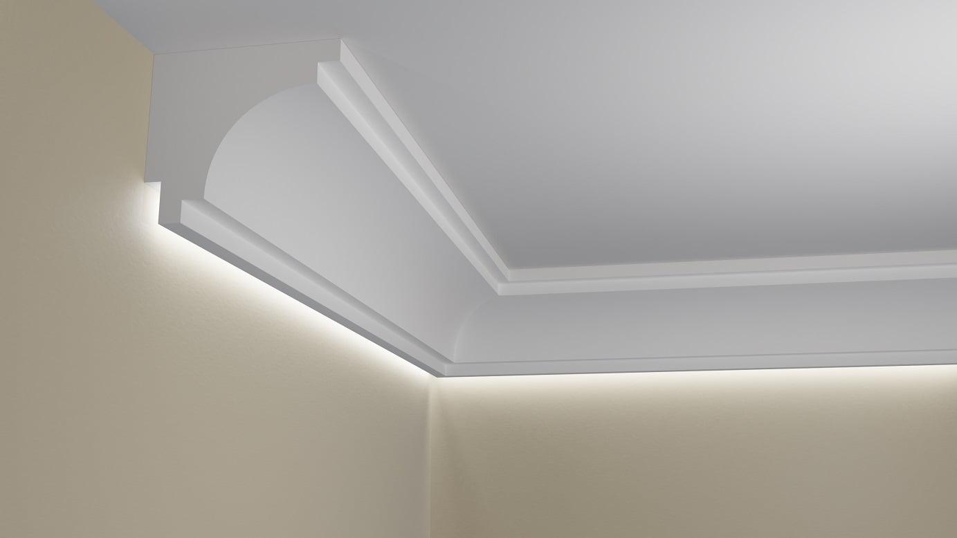 Wsla12 Listwa Przysufitowa Do Oświetlenia Led ściany