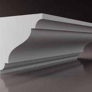 WSLA5 Sztukateria wewnetrzna listwa przysufitowa oswietlajaca sciane LED studio