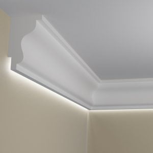 WSLA6 Sztukateria wewnetrzna listwa przysufitowa oswietlajaca sciane LED pr
