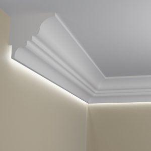 WSLA7 Sztukateria wewnetrzna listwa przysufitowa oswietlajaca sciane LED pr