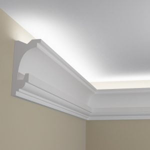 WSLS10 Sztukateria wewnetrzna listwa przysufitowa oswietlajaca sufit LED _pr