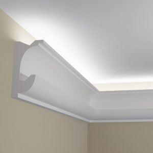 WSLS11 Sztukateria wewnetrzna listwa przysufitowa oswietlajaca sufit LED _pr