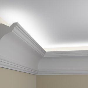 WSLS12 Sztukateria wewnetrzna listwa przysufitowa oswietlajaca sufit LED _pr
