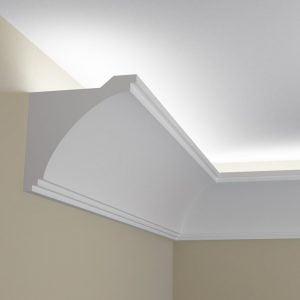 WSLS1_ Sztukateria wewnetrzna listwa przysufitowa oswietlajaca sufit LED pr