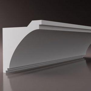 WSLS1_ Sztukateria wewnetrzna listwa przysufitowa oswietlajaca sufit LED studio