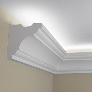 WSLS5_ Sztukateria wewnetrzna listwa przysufitowa oswietlajaca sufit LED pr