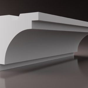 WSLS6_ Sztukateria wewnetrzna listwa przysufitowa oswietlajaca sufit LED studio