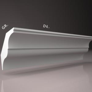 listwa przysufitowa sztukateria wewnetrzna XPS panstyropian WS26