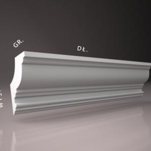 listwa przysufitowa sztukateria wewnetrzna XPS panstyropian WS27