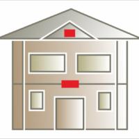 Elementy takie jak tablice, herby, czy szprosy montowane są zazwyczaj w centralnym miejscu pomiędzy kondygnacjami pod oknami lub u szczytu budynku.
