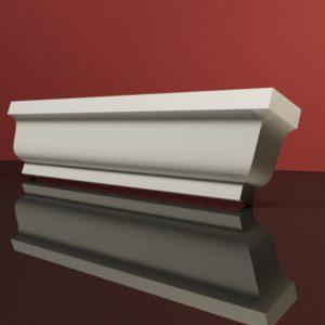 EG10 Gzyms elewacyjny podparapetowy nadokienny posredni sztukateria elewacyjna dach panstyropian eps200 2 normal