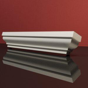 EG15 Gzyms elewacyjny podparapetowy nadokienny posredni sztukateria elewacyjna dach panstyropian eps200 2