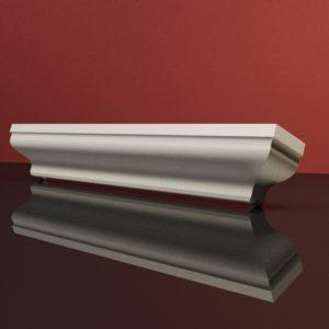 EG17 Gzyms elewacyjny podparapetowy nadokienny posredni sztukateria elewacyjna dach panstyropian eps200 2