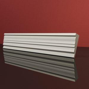 EG21 Gzyms elewacyjny podparapetowy nadokienny posredni sztukateria elewacyjna dach panstyropian eps200 1