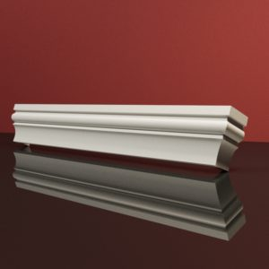 EG23 Gzyms elewacyjny podparapetowy nadokienny posredni sztukateria elewacyjna dach panstyropian eps200 2