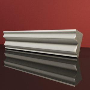 EG26 Gzyms elewacyjny podparapetowy nadokienny posredni sztukateria elewacyjna dach panstyropian eps200 1