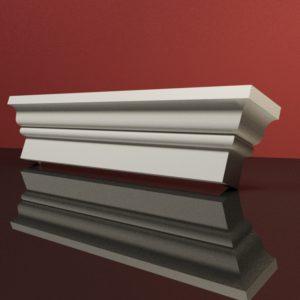 EG33 Gzyms elewacyjny podparapetowy nadokienny posredni sztukateria elewacyjna dach panstyropian eps200 2