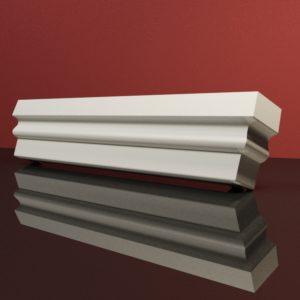 EG35 Gzyms elewacyjny podparapetowy nadokienny posredni sztukateria elewacyjna dach panstyropian eps200 2
