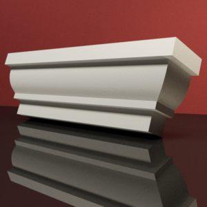 EG40 Gzyms elewacyjny podparapetowy nadokienny posredni sztukateria elewacyjna dach panstyropian eps200 2