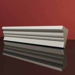 EG45 Gzyms elewacyjny podparapetowy nadokienny posredni sztukateria elewacyjna dach panstyropian eps200 1