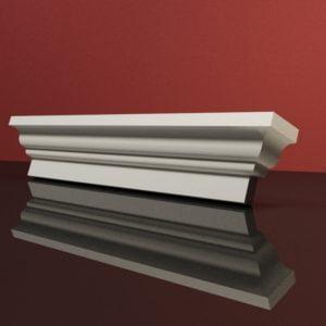 EG45 Gzyms elewacyjny podparapetowy nadokienny posredni sztukateria elewacyjna dach panstyropian eps200 2