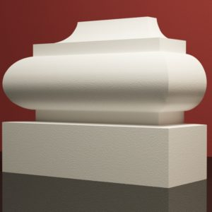 EPB10 Baza pilastra rdzenie pilastra sztukateria elewacyjna panstyropian eps200 10