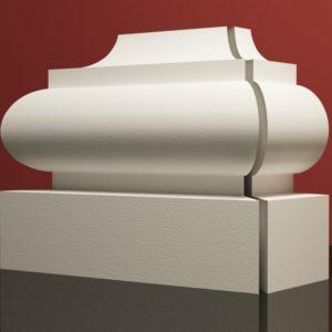 EPB10 Baza pilastra rdzenie pilastra sztukateria elewacyjna panstyropian eps200 11