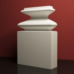 EPB3 Baza pilastra rdzenie pilastra sztukateria elewacyjna panstyropian eps200 20