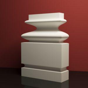 EPB4 Baza pilastra rdzenie pilastra sztukateria elewacyjna panstyropian eps200 10