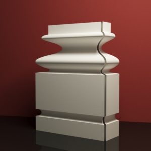 EPB4 Baza pilastra rdzenie pilastra sztukateria elewacyjna panstyropian eps200 11