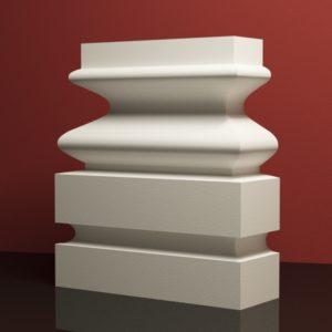EPB5 Baza pilastra rdzenie pilastra sztukateria elewacyjna panstyropian eps200 10