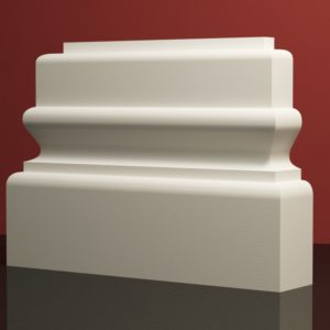EPB6 Baza pilastra rdzenie pilastra sztukateria elewacyjna panstyropian eps200 20