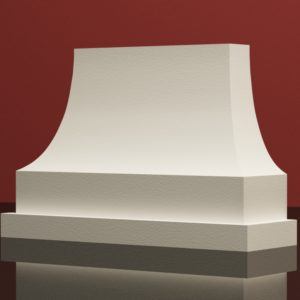 EPB7 Baza pilastra rdzenie pilastra sztukateria elewacyjna panstyropian eps200 20