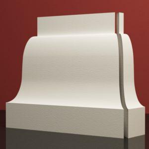 EPB9 Baza pilastra rdzenie pilastra sztukateria elewacyjna panstyropian eps200 11