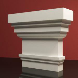 EPG4 Glowica pilastra rdzenie pilastra sztukateria elewacyjna panstyropian eps200 10