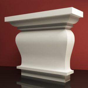 EPG6 Glowica pilastra rdzenie pilastra sztukateria elewacyjna panstyropian eps200 10