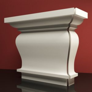 EPG6 Glowica pilastra rdzenie pilastra sztukateria elewacyjna panstyropian eps200 11