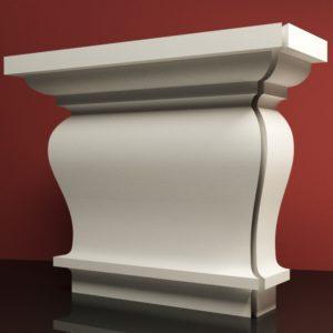 EPG9 Glowica pilastra rdzenie pilastra sztukateria elewacyjna panstyropian eps200 11