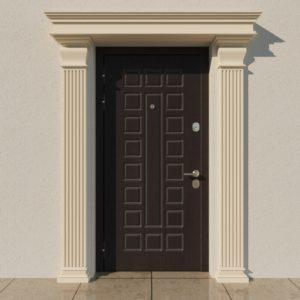 EPR1 Rdzen Pilastry sztukateria elewacyjna fasada 3