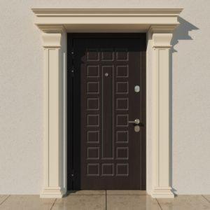 EPR3 Rdzen Pilastry sztukateria elewacyjna fasada 1
