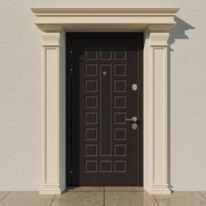 EPR4 Rdzen Pilastry sztukateria elewacyjna fasada 1