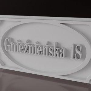 ET4 Tablice Herby Sztukateria elewacyjna dekory fasady 1212